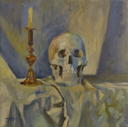 """""""Skull with Candle"""""""