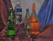 """Still Life with Beverage Bottles"""
