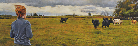 """Gwen and the Cows (Vimy)"""