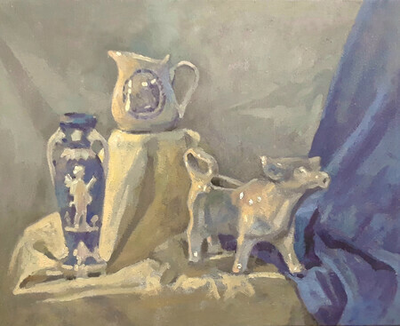 """Still Life with Cow Creamer"""